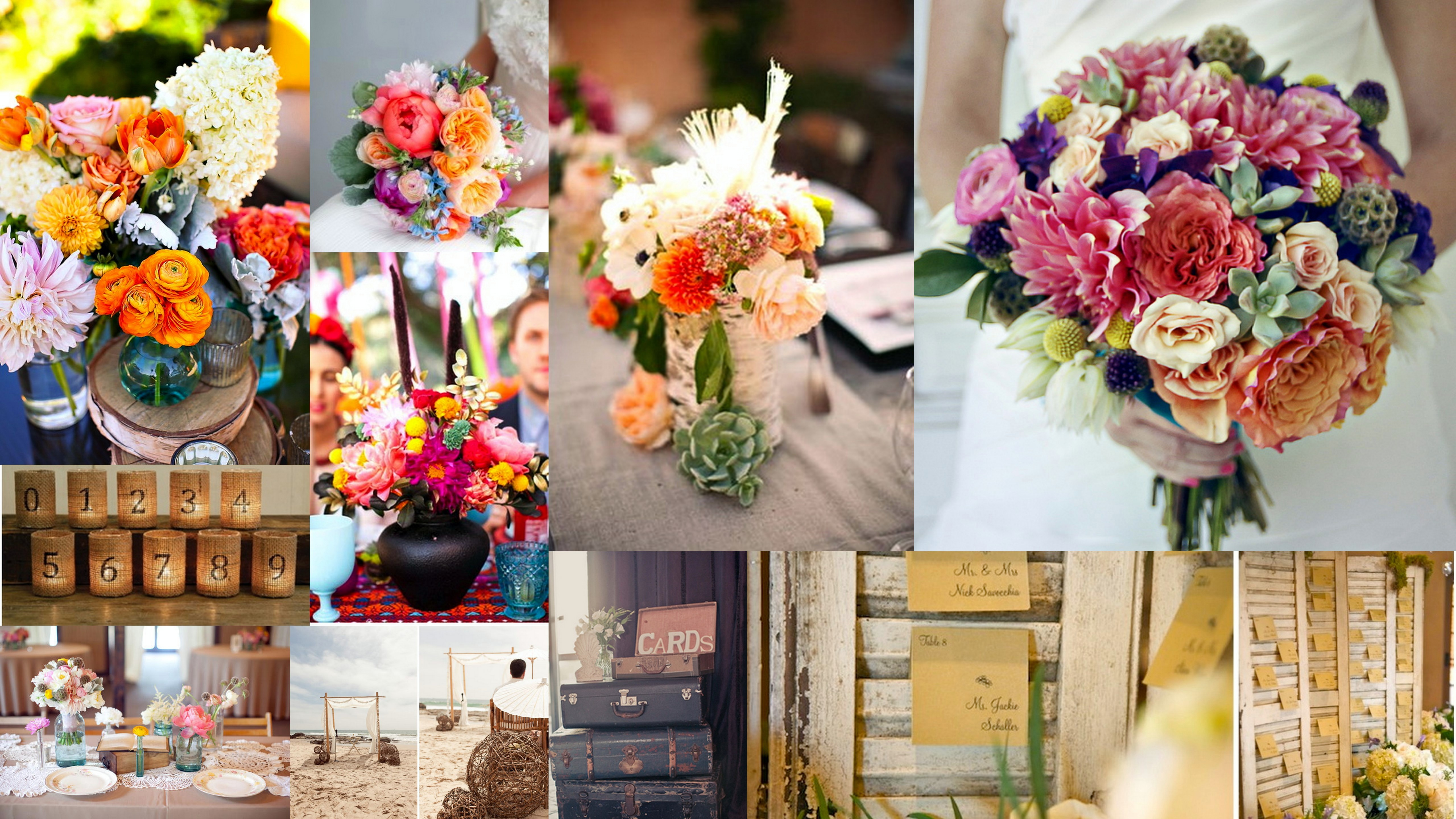 Colorful Vintage Travel Inspired Wedding A Wedding filled with inspiration